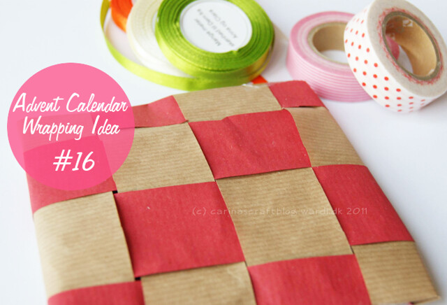Advent Calendar Wrapping Ideas : Carina s craft advent calendar wrapping ideas