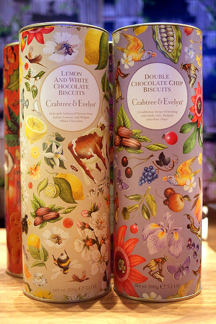 The chocolate biscuits from Crabtree & Evelyn