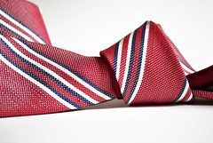 Banana Republic Red Stripe Necktie