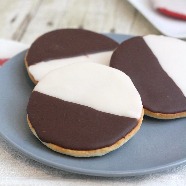 Black and White Cookies | Flickr - Photo Sharing!