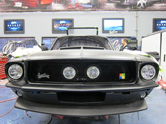 ford mustang mach 1(0.0), automobile(1.0), automotive exterior(1.0), vehicle(1.0), shelby mustang(1.0), first generation ford mustang(1.0), bumper(1.0), antique car(1.0), classic car(1.0), land vehicle(1.0), luxury vehicle(1.0), muscle car(1.0), sports car(1.0),