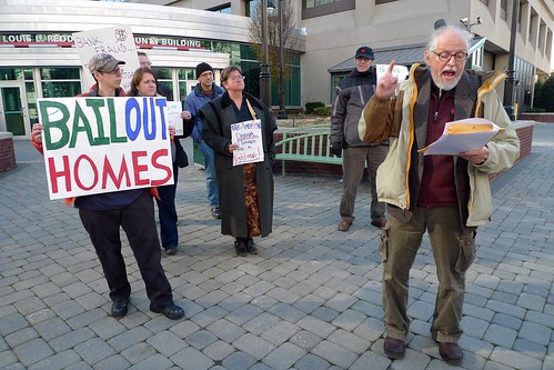 Occupy Delaware protests home foreclosures