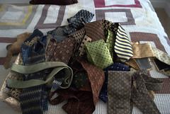 Necktie Abstract