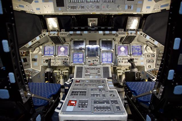space shuttle original cockpit - photo #37