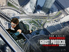 [Poster for Mission:Impossible Ghost Protocol]