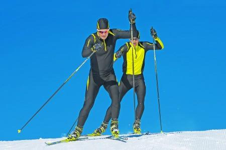 První tréninky na sněhu