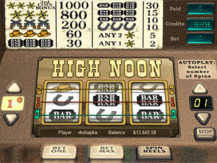 High Noon slot game online review