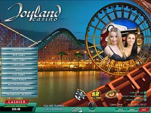 Joyland Live Casino Lobby