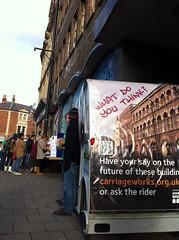 The consultation rickshaw