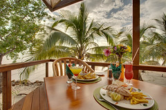 Belize Private Island Restaurant