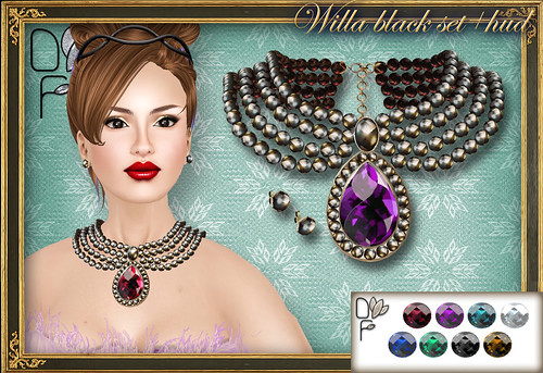 WILLA black set+HUD