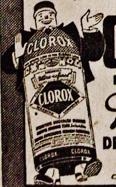 Clorox 1943 Butch the Bottle