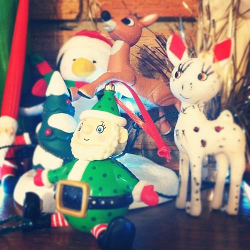 Elfs and deer.