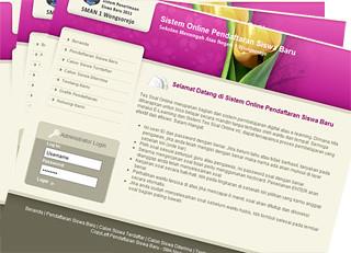 Tutorial AJAX + PHP : Contoh Aplikasi Pendaftaran Online Siswa Baru Dengan AJAX dan PHP