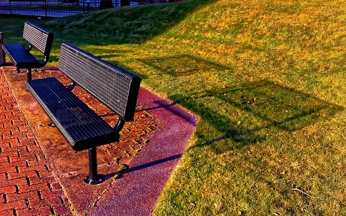 Benches in the Afternoon