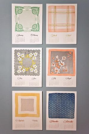 Mink-Letterpress-Vintage-Handkerchief-Calendar-300x450