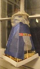 back of paper lantern