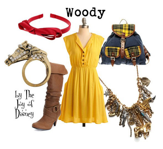 Inspired by: Woody -- Movie: Toy Story