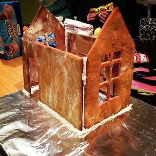 Gingerbread sugar shack