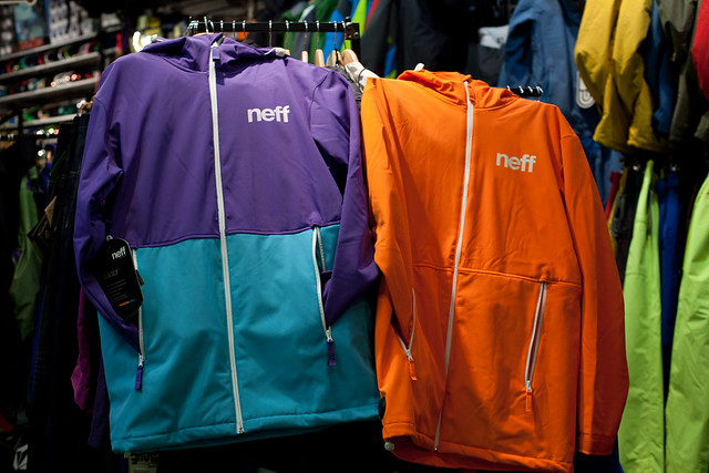 Neff Jackets at Evolution Whistler