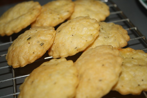 Rosemary and Cheddar Sables