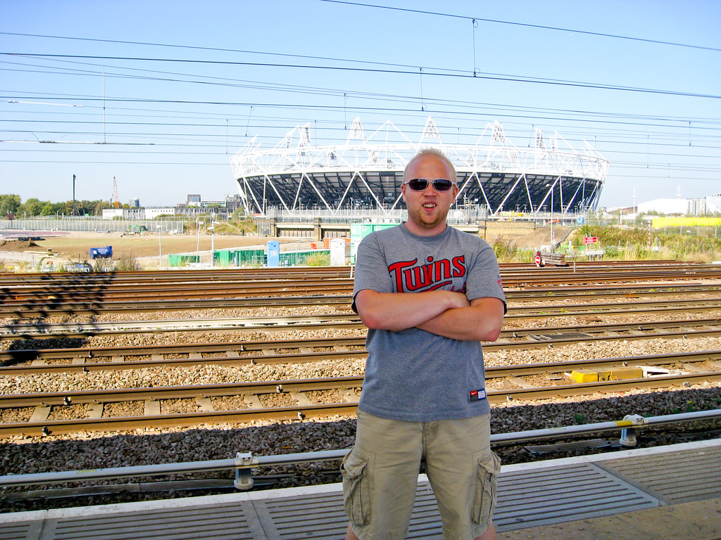 Patrick at Olympic Village