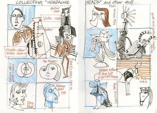 Summer! 24SA_10 Picasso Headache Heads