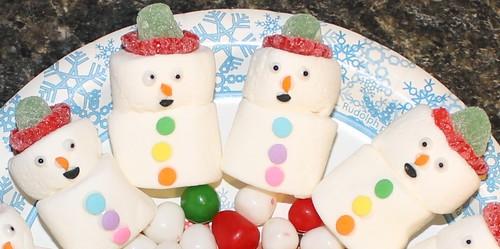 Marshmallow Snowmen - 2