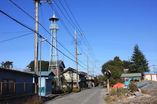 樋春の火の見櫓(熊谷市・旧江南町)