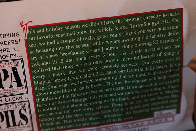 6565280263 7a17150f9d z Lagunitas Sucks Holiday Ale
