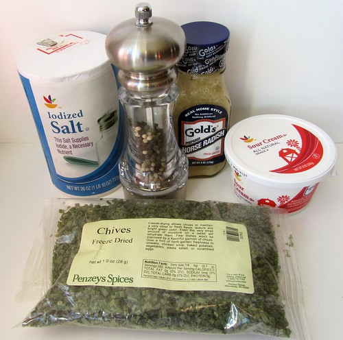 Horseradish Sauce Ingredients