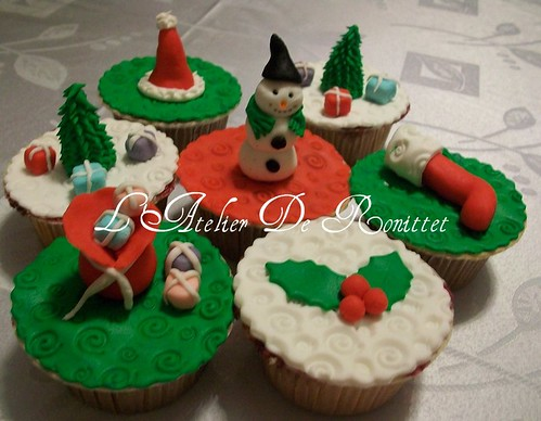 Yılbaşı Cupcakeleri by l'atelier de ronitte