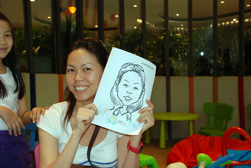 caricature live sketching for Forestque Residence (Wing Tai) - Day 1 - 8
