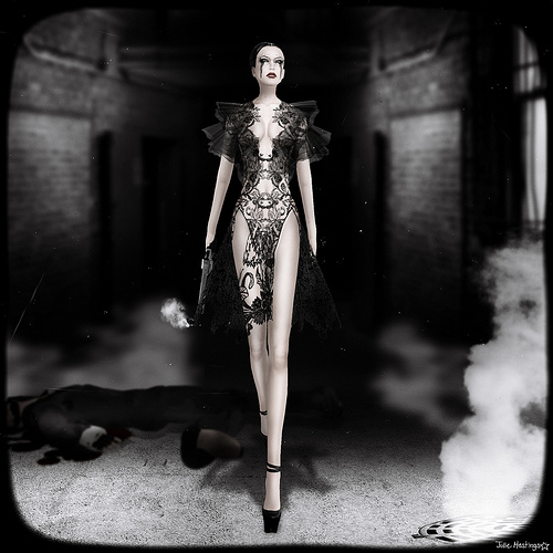 The Fashion Teller- MURDER, My Sweet Casting Contest ENTRY: Amita Yorcliffe by Fashion Teller