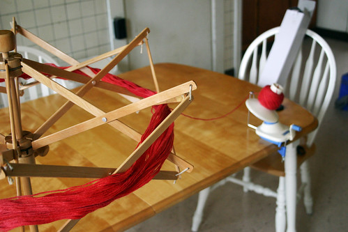 xmas haul 2011 - the swift and ball winder!