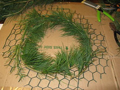 wreath stage 1