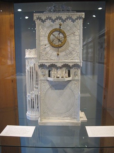 Model Horological Clock, Historical Museum, Lund