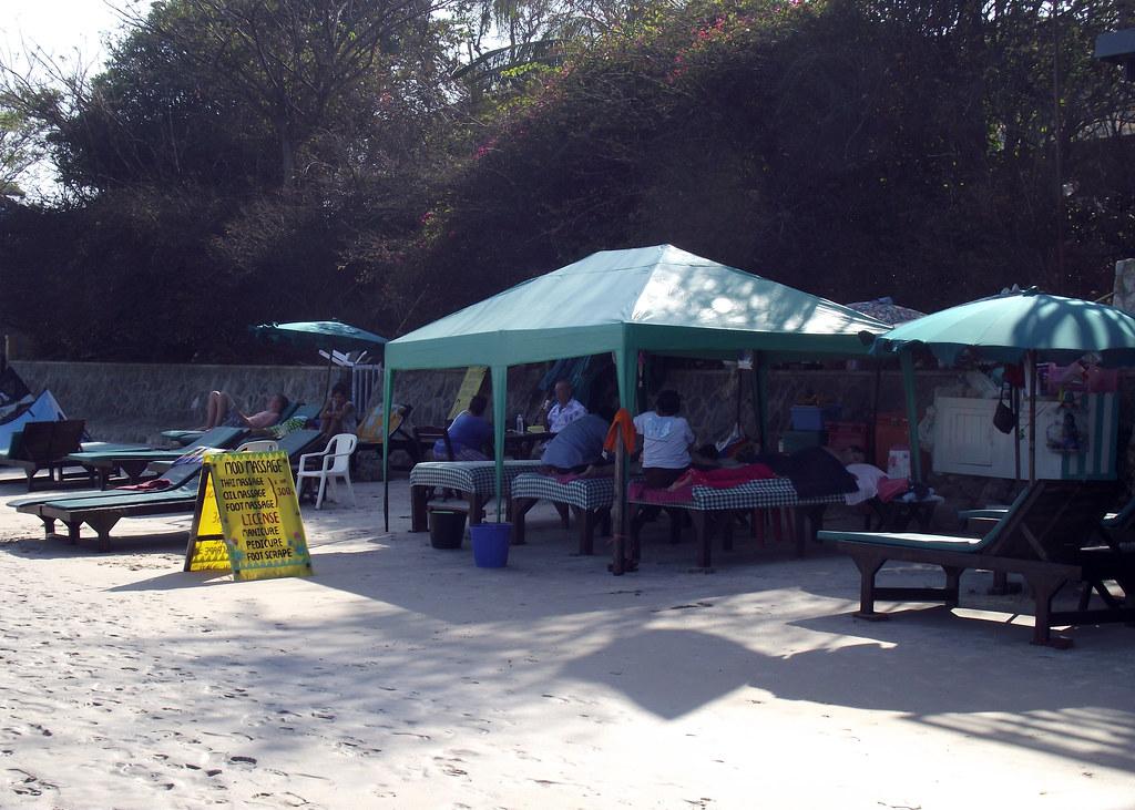 Massage on Hua Hin Beach