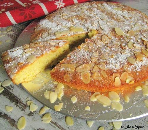 Almond Olive Oil Cake