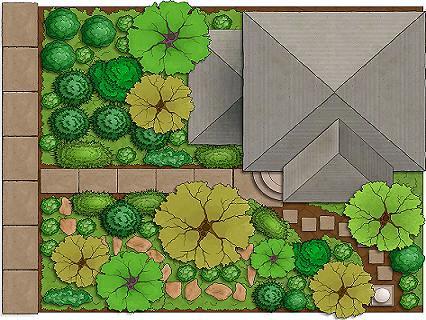 Dise o de jardines ideas y sugerencias for Diseno de jardin grande
