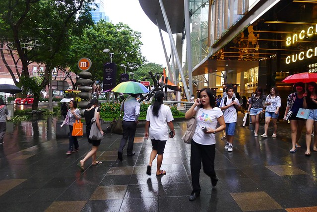Singapore Trip: Walk At Orchard Road