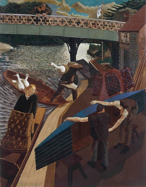 Spencer: Swan Upping at Cookham