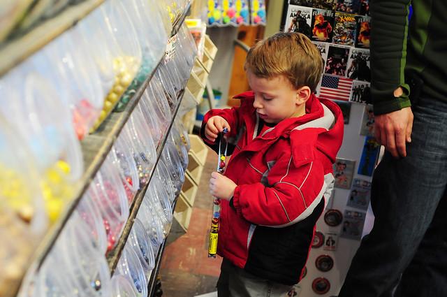 choosing marbles