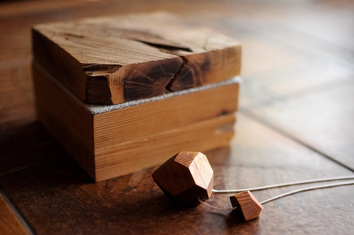 Cedar Necklace & Jewelry Box