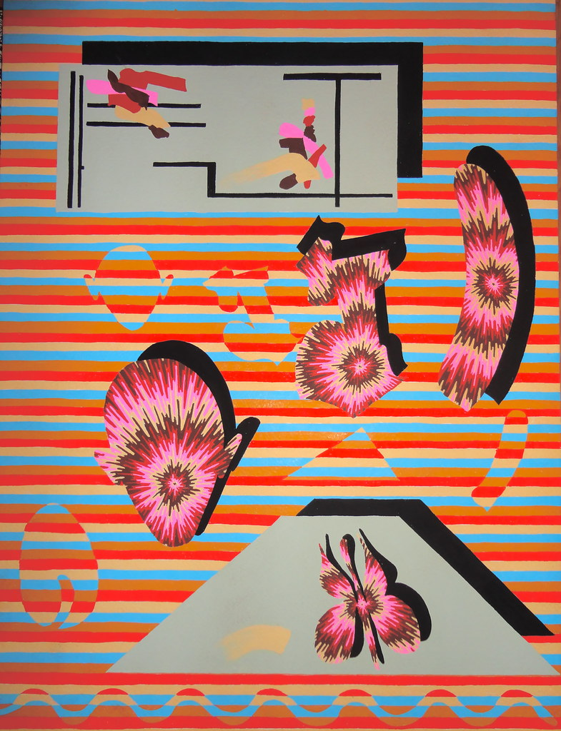 NEWS HUB | Bold Psychedelic Paintings by Eric Shaw | art and design news, art news