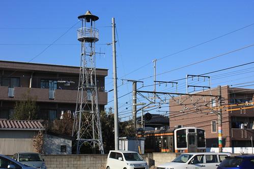 桶川若山町の火の見櫓(桶川市)