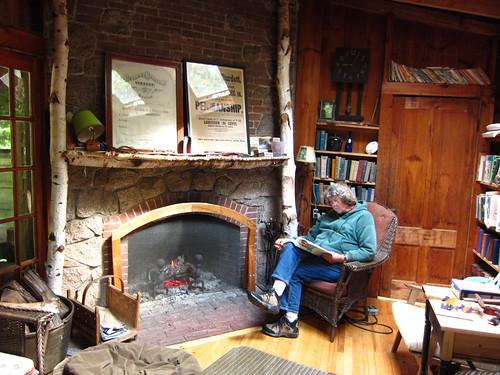 Judy studying