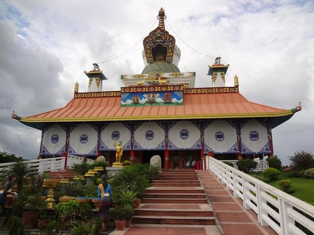 Mosteiro Budista Alemão em Lumbini, Nepal