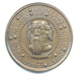 Manship Dionysus medal obverse