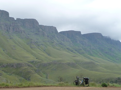 Cycling Sani pass